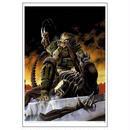 エイリアン VS プレデター アクメアルシーヴ Acme Archives Aliens vs. Predator Blood Time by Phill Norwood Paper Giclee