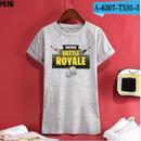 Fortnite フォートナイト ロゴ デザイン 綿100%  Tシャツ トップス  ユニセックス メンズ レディース  8