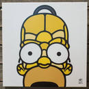 BAIT おもちゃグッズ Toys and Collectibles BAIT x David Flores 36 Inch Canvas - Homer 3/4