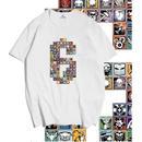 レインボーシックス シージ   カラフルロゴ   Tシャツ Tom Clancy's Rainbow Six Siege ユニセックス R6S シージグッズ 2