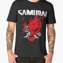 サイバーパンク 2077  ゲーム デザイン SAMURAI サムライ Tシャツ  Cyberpunk 2077