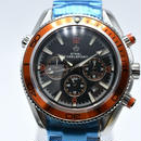 STEELBAGELSPORT 時計 腕時計 ウォッチ 自動巻き 機械式腕時計 フルステンレス クロノグラフ ミリタリー  2色 42mm