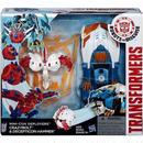 トランスフォーマー Transformers ハズブロ フィギュア Robots in Disguise Minicon Deployers Crazybolt & Decepticon Hammer