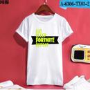 Fortnite フォートナイト ロゴ デザイン 綿100%  Tシャツ トップス  ユニセックス メンズ レディース  2