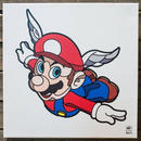 BAIT おもちゃグッズ Toys and Collectibles BAIT x David Flores 24 Inch Canvas - Mario