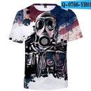 レインボーシックス シージ  ゲーミング 3Dプリント Tシャツ  半袖   Tom Clancy's Rainbow Six Siege R6S シージグッズ