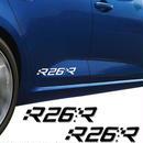 ルノー クリオ ステッカー ドアサイド Megane R26R Clio R.S Twingo Kadjar グラフィック デカール h00187