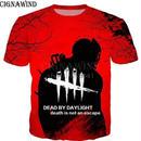 デッドバイデイライト 男性  女性 3D デザイン プリントTシャツ 男の子 半袖  10