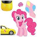 マイリトルポニー エレファントガン Elephant Gun My Little Pony Pinkie Pie Car Graphics Set