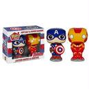 マーベル ファンコ FUNKO Pop! Home: Salt N' Pepper Shakers - Captain America & Iron Man