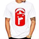 レインボーシックス シージ  ロゴデザイン  Tシャツ  半袖   Tom Clancy's Rainbow Six Siege R6S シージグッズ 8