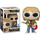 カート コバーン Kurt Cobain ファンコNirvana POP! Rocks Exclusive Vinyl Figure [White Sunglasses, Red Guitar]