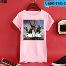 Fortnite フォートナイト ロゴ デザイン 綿100%  Tシャツ トップス  ユニセックス メンズ レディース  15
