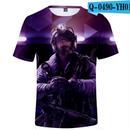 レインボーシックス シージ  ゲーミング 3Dプリント Tシャツ  半袖   Tom Clancy's Rainbow Six Siege R6S シージグッズ  6