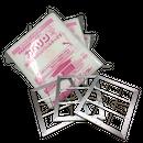 レンジフードフィルター カバリンMM400サイズ(400×298)10枚入り3パック+専用枠3枚(シルバー)