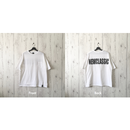 Back Print Wide T-shirt (3 color)