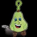 洋梨の香り【 WhifferSniffers 】エアーフレッシュナー 芳香剤  香る ぬいぐるみ アメリカンキャラクター キーホルダー