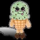 チョコミント アイスクリームの香り【 SuperSniffers 】  香る ぬいぐるみ アメリカンキャラクター 芳香剤 エアーフレッシュナー  【 WhifferSniffers 】