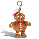 ジンジャークッキーの香り【 WhifferSniffers 】エアーフレッシュナー 芳香剤  香る ぬいぐるみ アメリカンキャラクター キーホルダー