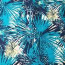 Sharon Holland - 海岸線/Teal Blue ※50cm x 50cm
