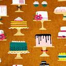 Patty Sloniger デコレーションスイーツ/Brown  ※50cm x 50cm