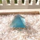 ブルーフローライト ピラミッド   「意識の海」