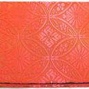 013RE-LWK-A 金襴 七宝花菱 赤 (約18.5cm×12.5cm御朱印帳対応)