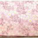 044PI-GWKT-B KASUMI柄 ピンク (御朱印帳約16cmx11.5cm対応)