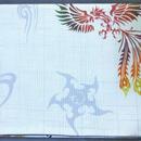 058WH-GWM-A 鳳凰と梵字(御朱印帳約16cmx11.5cm対応)