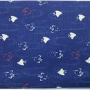020NA-GWM-A 千鳥柄 紺 和調和柄布 (御朱印帳約16cmx11.5cm対応)