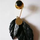 ochiba_ black pierce / earring