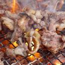 おやべ火ね鶏 焼肉用モモ1Kg (カット済み・解凍)