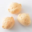 日光葵 三猿もなか(くるみ&キャラメルクリーム)3個入 小袋