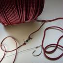 テトロンアラ縄 カッチ色 3X2 4.5mm 500m(金具、針は含まず)