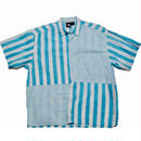 1990's GOTCHA クレイジーストライプシャツ 表記(S)