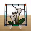ステンドグラス ミニパネル カラー 15cm