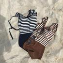 ✳︎予約販売✳︎Border Swim Wear /2colors