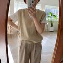 ✳︎予約販売✳︎minimal knit vest/2colors