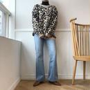 *予約販売*leopard knit/ベージュ