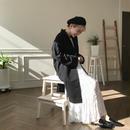 ✳︎予約販売✳︎ディテールミドルコート/ブラック