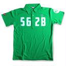 【追加販売】野村タケオデザイン562Bポロシャツ グリーン