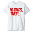 NOMOUZE Tシャツ/ホワイト