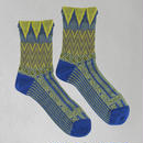 【nonnette】 Herringbones  Socks      NS221T- 80/ blue