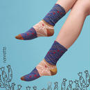【nonnette】Cactus Socks NS187T- 4 color