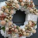 少し小さなSpring wreath