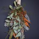 野の花屋 ユーカリとグレビリアのスワッグ