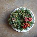 野の花屋  サンキライクリスマスリース