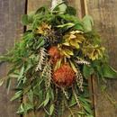 野の花屋 ワイルドフラワースワッグ