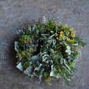 野の花屋 アンティークグリーンリース