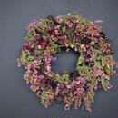 野の花屋  エリカのピンクリース